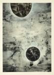 """いしだふみ/ISHIDA fumy:間""""Time & Space""""Ⅶ 84×59.5 ミクストメディア"""