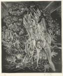 大上 吉成/OUE yoshinari:〔生命の…〕 39×33 銅版