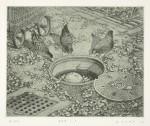 小浦 昇/KOURA noboru:卵?! 12×15 銅版
