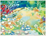 竹内美穂子/TAKEUCHI mihoko:Spring view II 48×63.3 平版