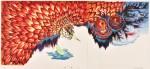 中野  年/NAKANO minoru:朱雀(11) 70×128 平版