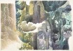 【春陽会賞】山口 剛史/YAMAGUCHI takeshi:流転 58×84 木版