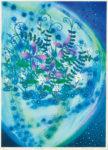 【奨励賞】佐藤千恵子/SATO chieko:Beautiful earth 71×51 平版