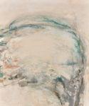 すずきくみこ/SUZUKI kumiko:雲の人(母の肖像) F130 油彩