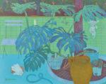 小島 満子/KOJIMA mitsuko:わたしの庭 F100 油彩