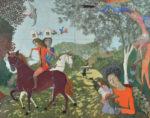 小林 裕児/KOBAYASHI yuji:幻視-合歓の庭 273×350 テンペラ・油彩