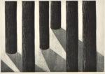 内山 良子/UCHIYAMA ryoko:Forest in the light II 54.5×79 木版