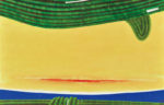 坂田 和之/SAKATA kazuyuki:茶の景 117×182 油彩