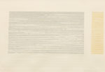 島 けいこ/SHIMA keiko:MIZU '21.1 46×70 ドライポイント・エンボッシング