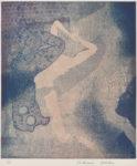大上 吉成/OUE yoshinari:37才のリビドゥー 42×35 エッチング