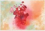 松島 順子/MATSUSHIMA junko:春の鼓動 90×60 平版