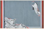 鈴木 君子/SUZUKI kimiko:A MOMENT 75.5×106 孔版