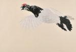 務川めぐみ/MUKAWA megumi:冬羽 64×93 木版