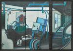 生駒 幸子/IKOMA sachiko:個人の時間~アトリエにて 163×239 油彩