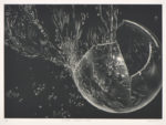 三浦やほ子/MIURA yahoko:crystal planet-XV 29×40 銅版・メゾチント