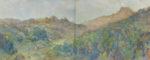 原田 和泉/HARADA izumi:季節がゆく No1 130.4×324.5 油彩