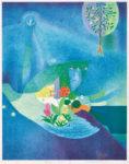 竹内美穂子/TAKEUCHI mihoko:Blue bird II 57.5×45 平版