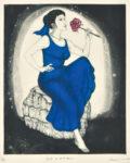 村田 久命/MURATA kumi:ラストダンスは 私と… 64.5×49 銅版
