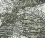 狩野三也子/KANO miyako:水の庭-風の詩 F130 油彩