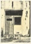 中畝かほる/NAKAUNE kaoru:space-20-1 55.5×38.5 平版・石版