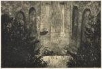 麓 絵理子/FUMOTO eriko:Sequence 40×60 銅版・コラグラフ