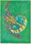 池田由紀子/IKEDA yukiko:Unpredictable Life III 84×60 木版