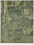 臼井 邦彦/USUI kunihiko:叙景-丸山福山町にて 60×45 銅版